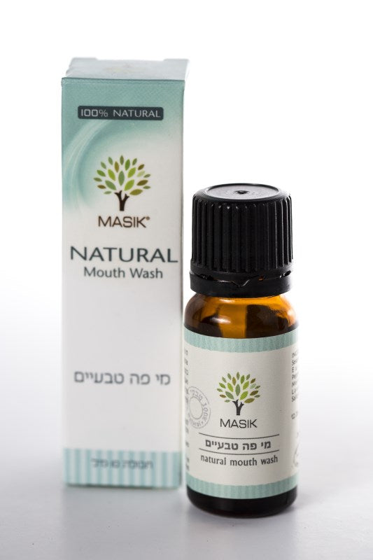 masik mouthwash 100% natural essential oils, fresh and pleasant breath