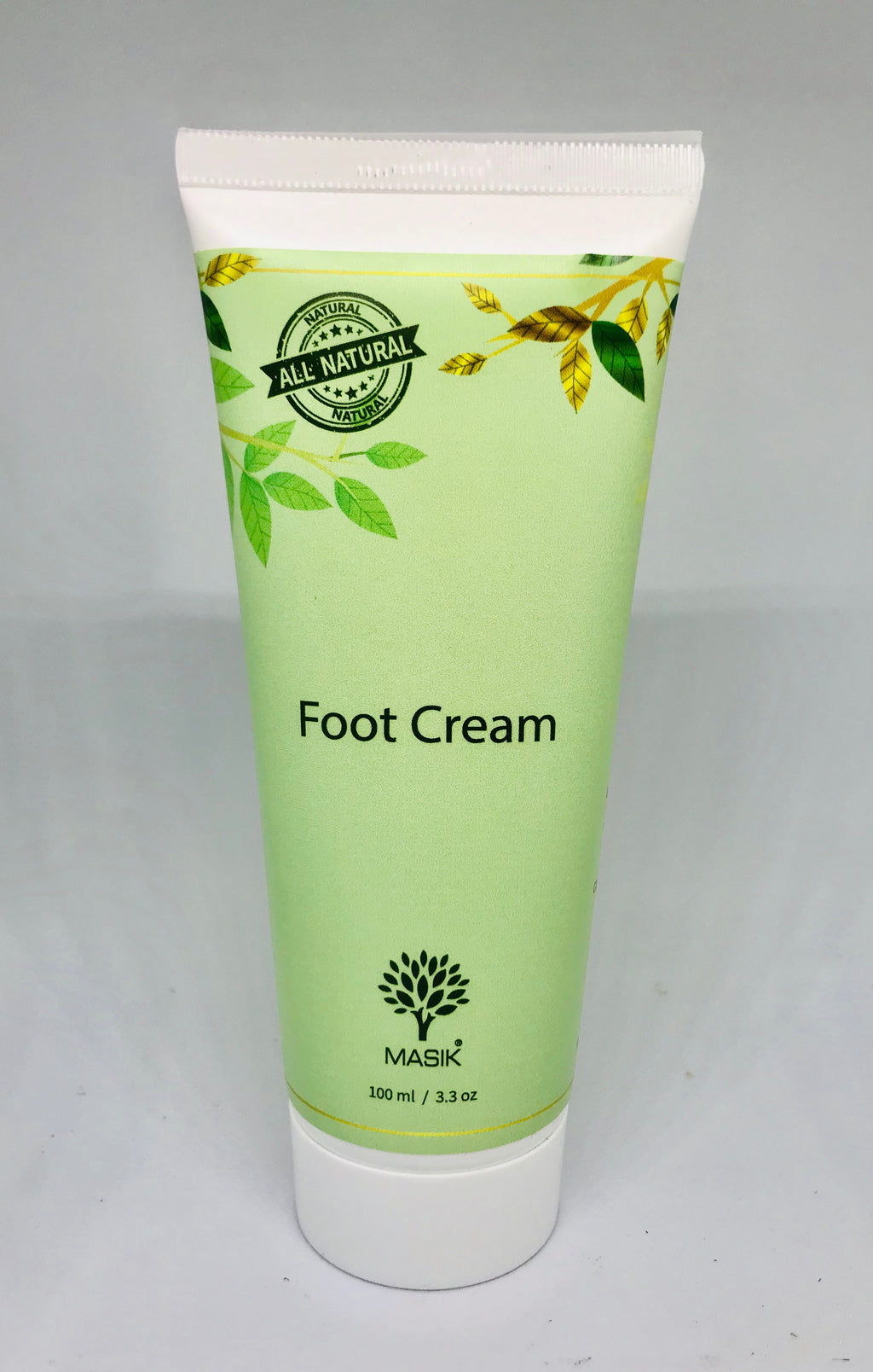 Masik Foot cream 100% natural with olive oil & essential oils handmade, callus remover