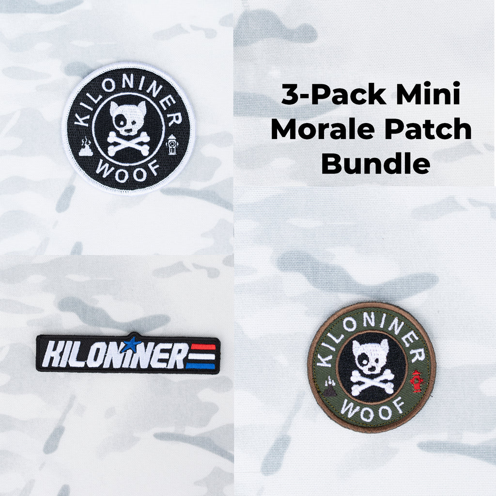 3 Pack - Mini Morale Patches