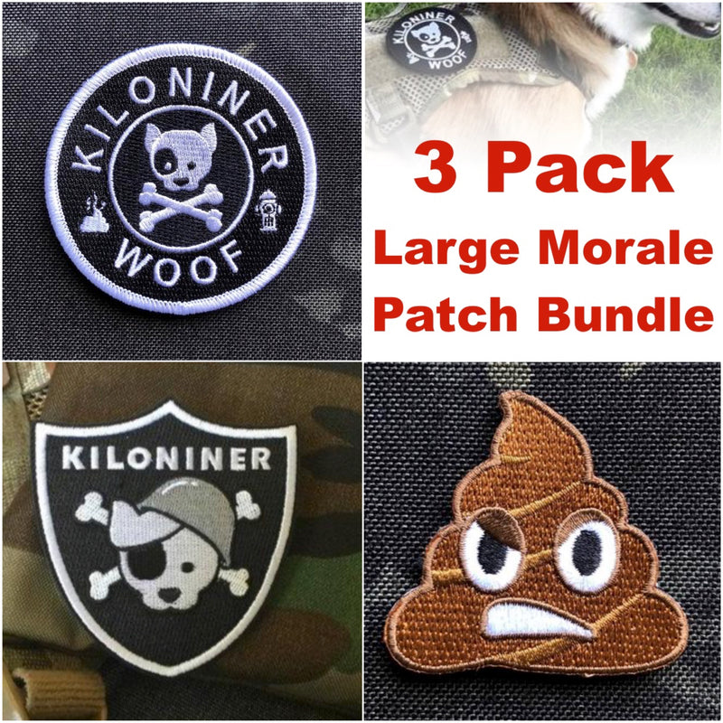 3 Pack - Large Morale Patches