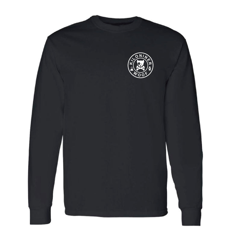 Dog and Crossbones Long Sleeve Tee