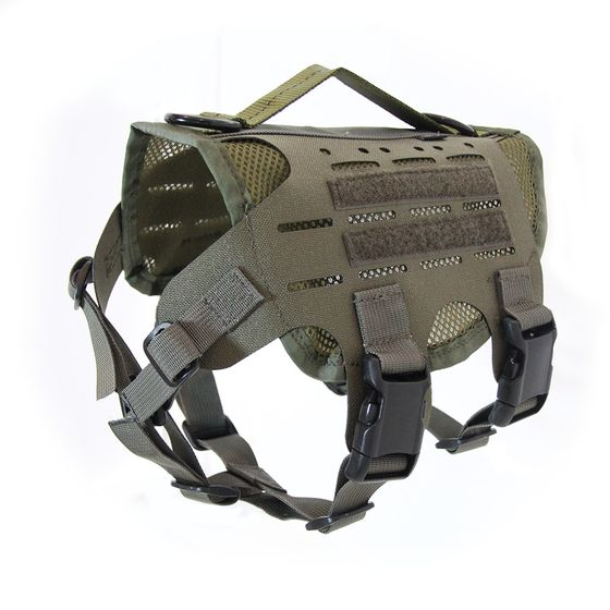 M4 Tactical MOLLE Vest Laser Cut