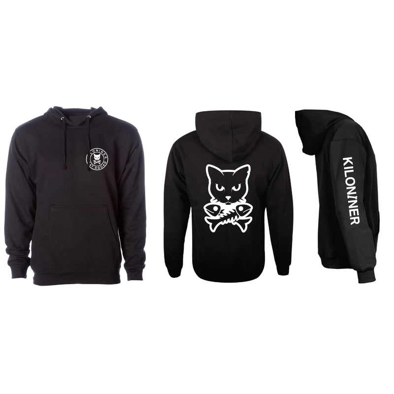 Cat and Crossbones Hoodie