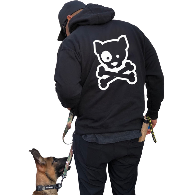 Dog and Crossbones Hoodie