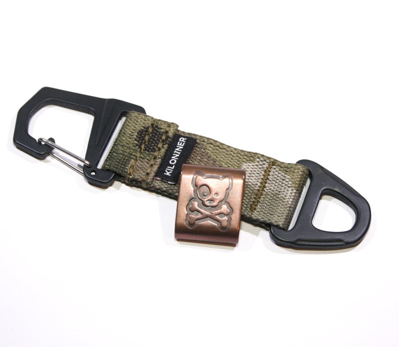Steel Flame Copper MOLLE Clip - Kiloniner