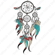 Load image into Gallery viewer, Dream Catcher Temporary Tattoo 631