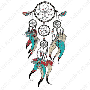 Dream Catcher Temporary Tattoo 631