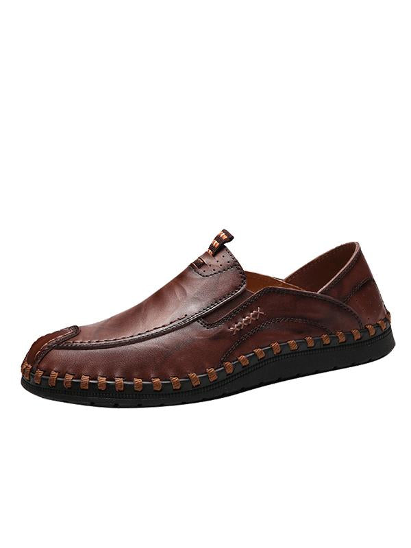 Leather Business Casual Loafers