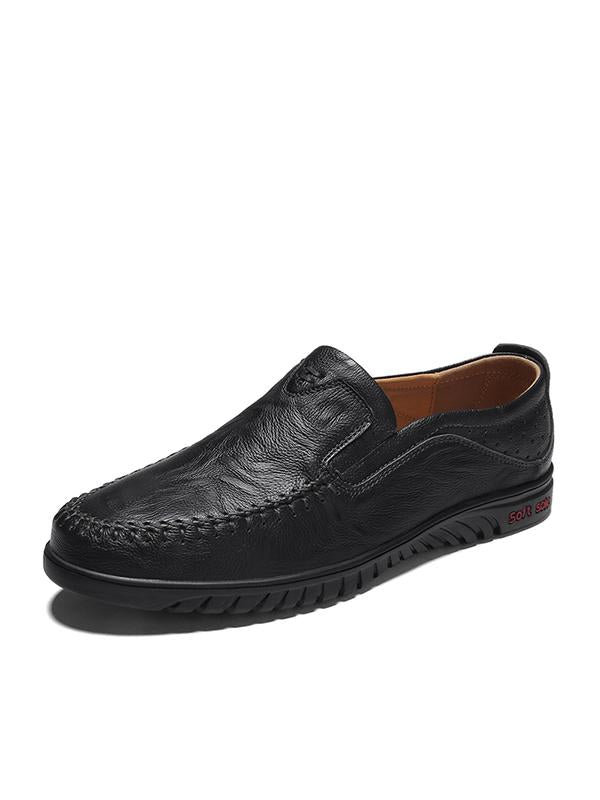 Men's Leather Breathable Casual Shoes