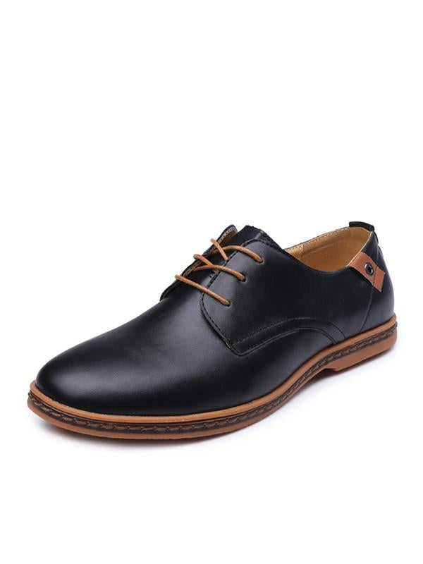 Fashion Business Lace-up Casual Shoes