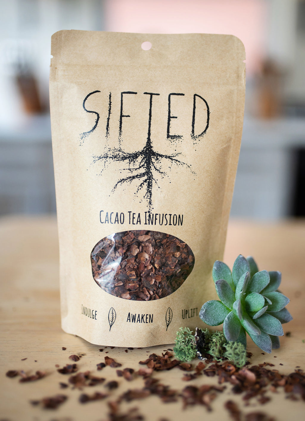 Sifted Cacao Tea Infusion 4oz Bag