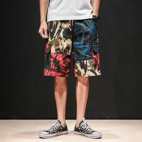 Casual Camouflage Cargo Men Shorts