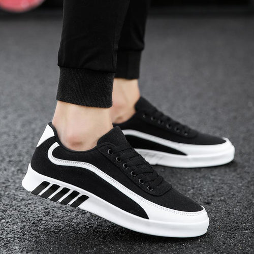 2019 new sports men's casual shoes canvas personality canvas shoes