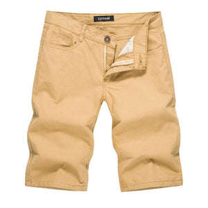 New casual fashion men's solid color casual shorts