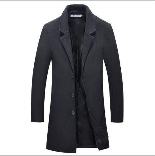 New coat woolen coat casual fashion windbreaker