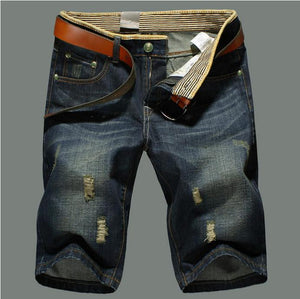 Mens Class Shorts Jeans Straight Denim