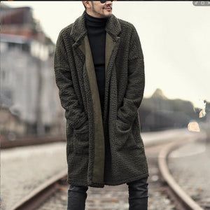 Men's Fashion Double Sides Long Coat