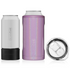 Glitter Violet BRUMATE Hopsulator 3-in-1 Can Cooler/Cup