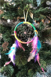Fluro Rainbow Dreamcatcher