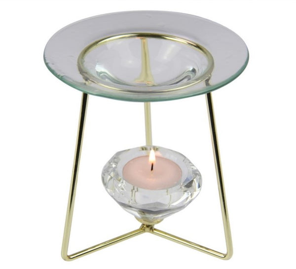 Tealight Candle Diamond Oil Burner