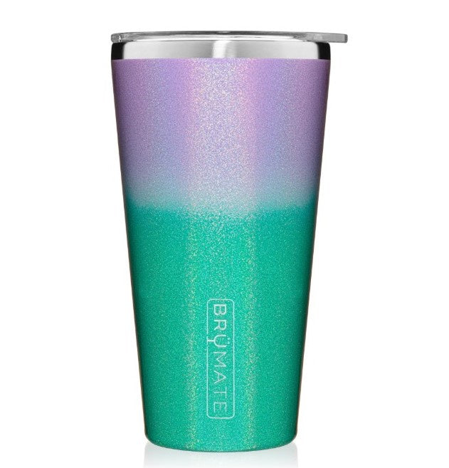 Mermaid Glitter BRUMATE Imperial Pint Cooler Cup