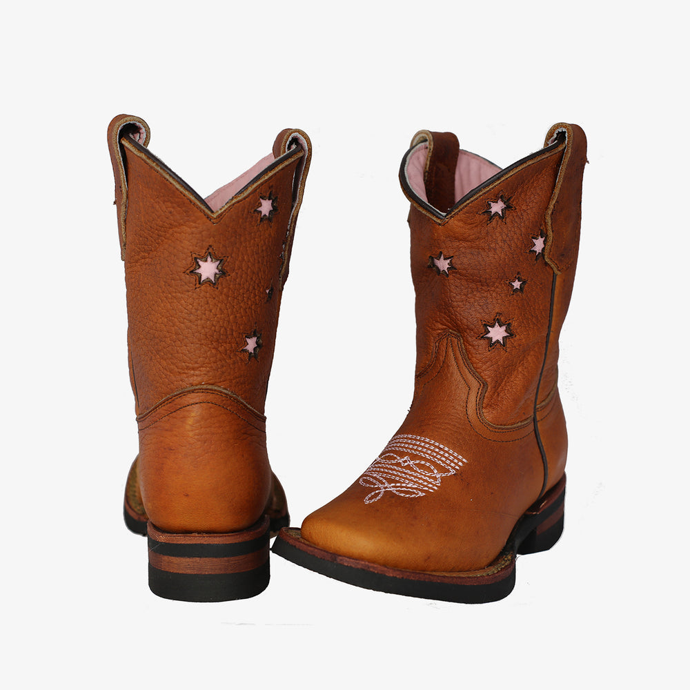 Youth Pink Southern Cross Kader Boots