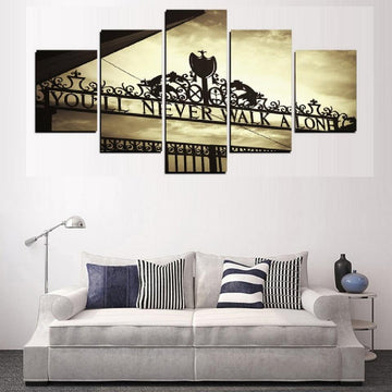 You Will Never Walk Alone HD Canvas *Cyber Monday 50% Off Sale*