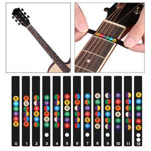 Fretboard stickers for guitar (13 pcs)