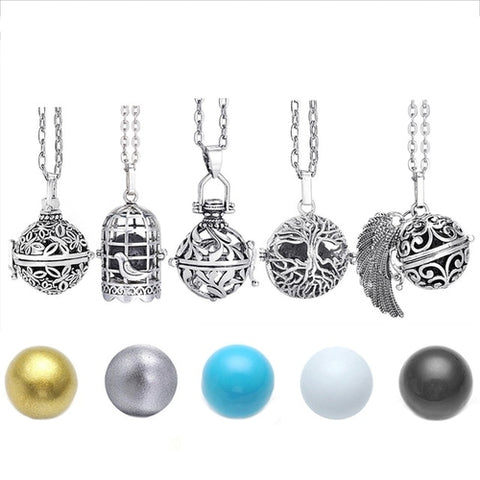 Musical Chime Pendant & Chain