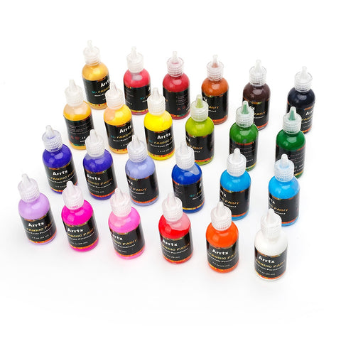 Acrylic Paint (set) for wood, glass, textile, leather