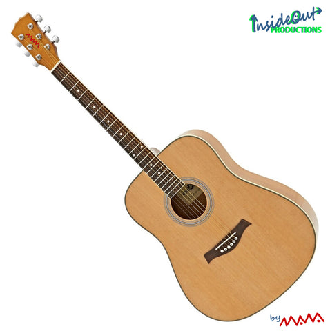 MAWA lefthanded western guitar, NATUR