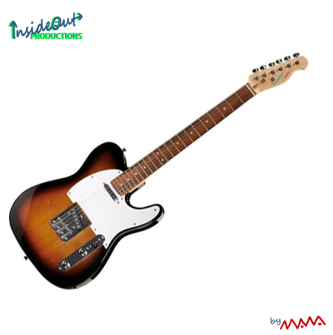 MAWA electric guitar,  sunburst TELECASTER-model