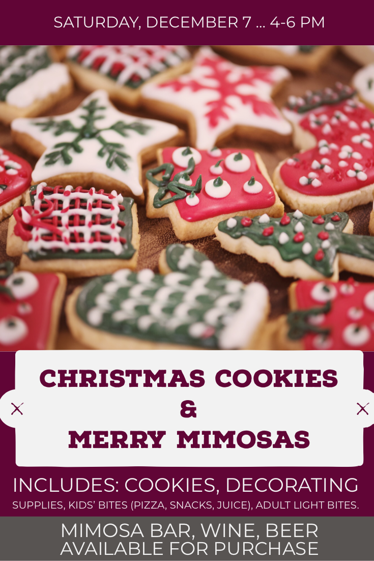 Christmas Cookies & Merry Mimosas