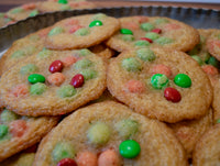 Thin & Crispy M&M Cookies