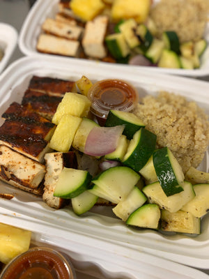 Vegan - Grilled BBQ Tofu