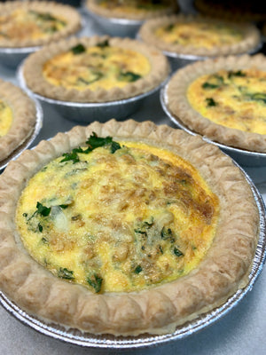 Individual Quiche- Butternut Bacon Quiche