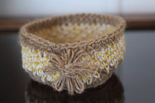 Load image into Gallery viewer, hand crocheted jewellery baskets