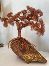 Load image into Gallery viewer, Copper Wire Bonsai Tree