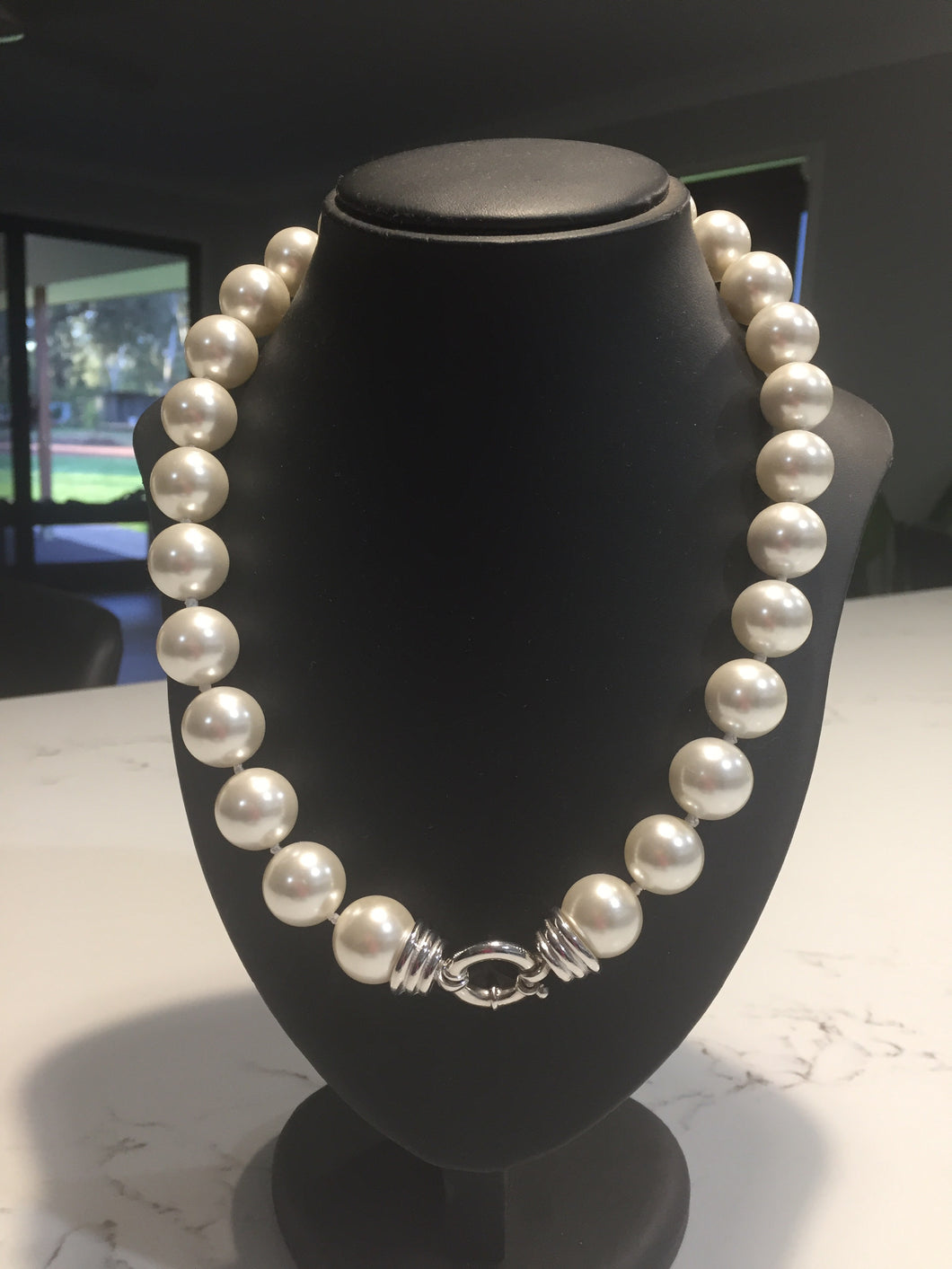 Pearl necklace 50cm