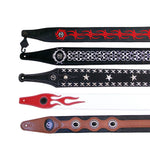 Strap straps  Good quality  leather guitar strap / electric bass straps diverse choices hot selling  guitar belt