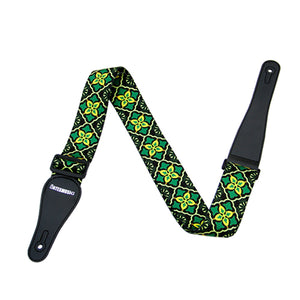 Bates Music Patterned Guitar Strap