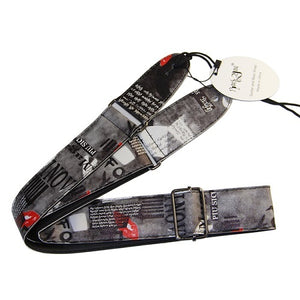 Multi Design Guitar Strap