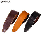 Soldier Genuine Leather Adjustable Guitar Strap