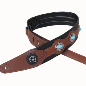 High-quality  guitar strap / Blue Diamond guitar strap guitar belt Width 6.5 cm Brand strap