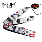 Polyester American Flag Guitar Strap