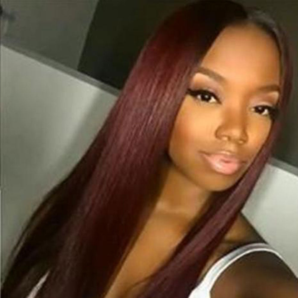 Luna N07 Affordable Extra Long Straight Wig For Black