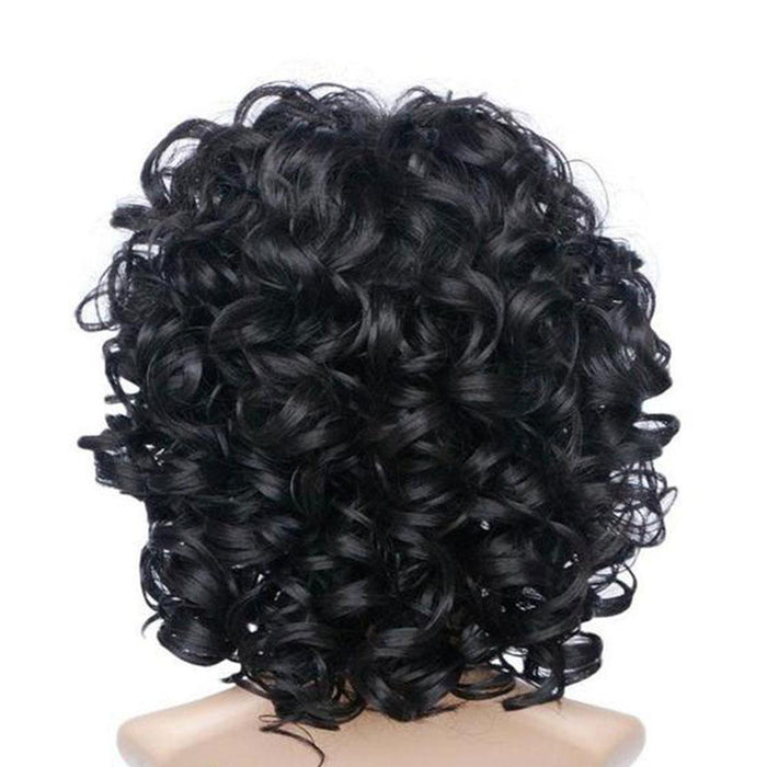 Luna Collar Length Deep Wavy Bob Hair Wig with Bangs for Women