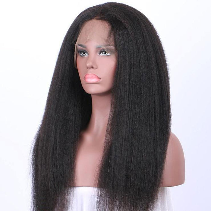 Luna S05 Lace Front Straight Long Hair Wig for Black Women
