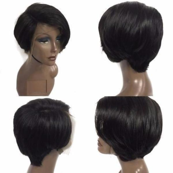 LUNA A75 Affordable Short Straight Bob Wig for Afrian American