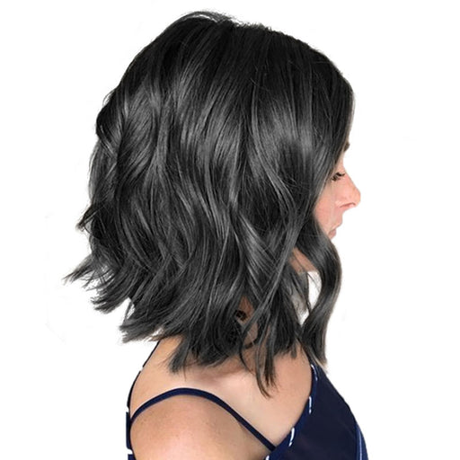 Women Lace Front Luna Wig S16 Flirty Wavy Bob Shoulder Length Wig